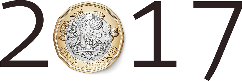 New 1 Pound Coin in 2017