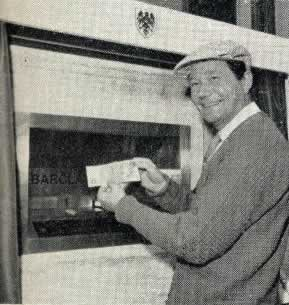 The first ATM in 1967 was in Enfield