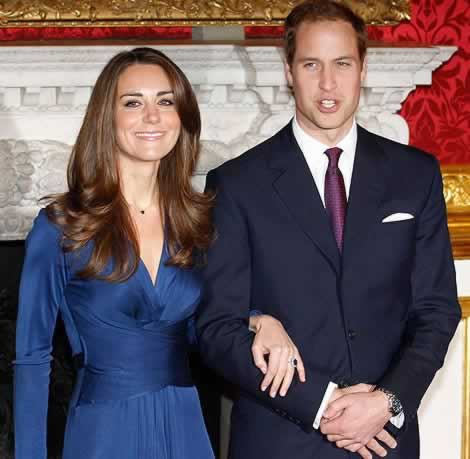 Kate and William marry on Friday 29th April